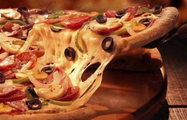 ADELGAZAR COMIENDO PIZZA