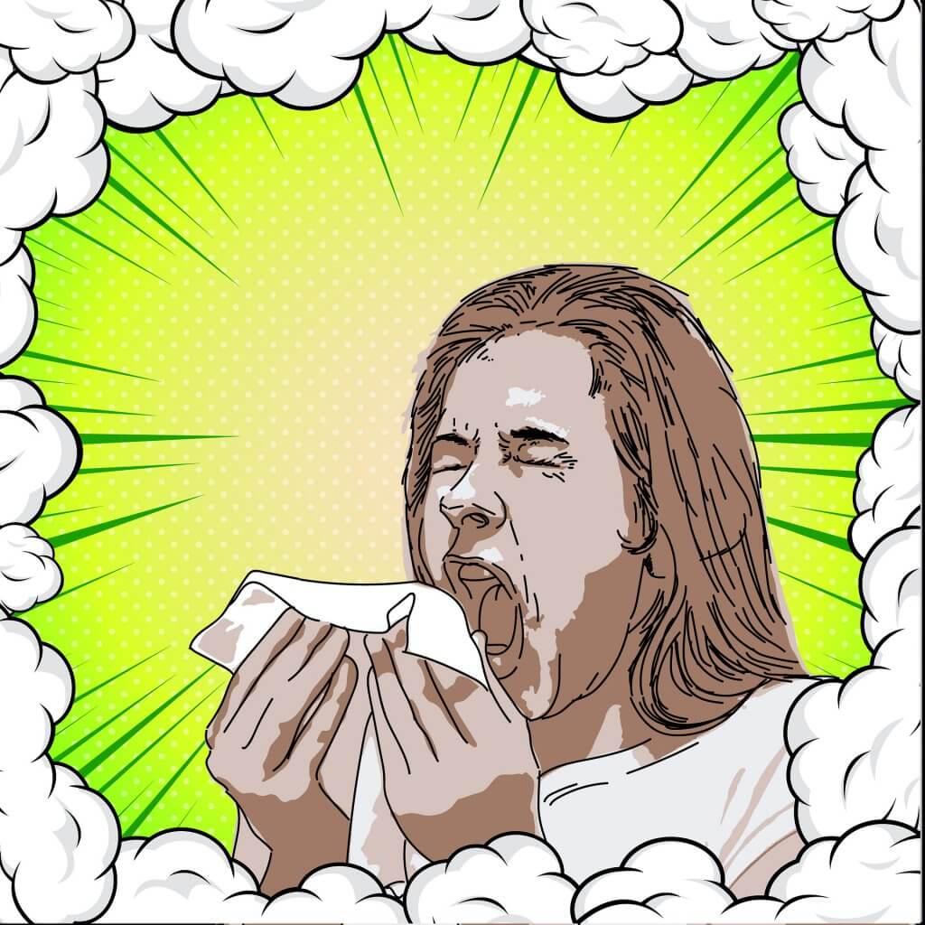 Alimentos contra la alergia- estornudo