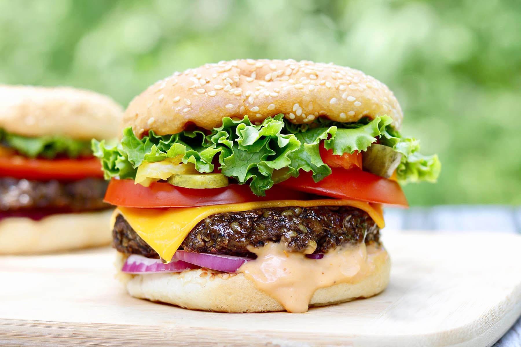 "¡¡La nueva ""Veggie Burger"" de Aporpizza!!"