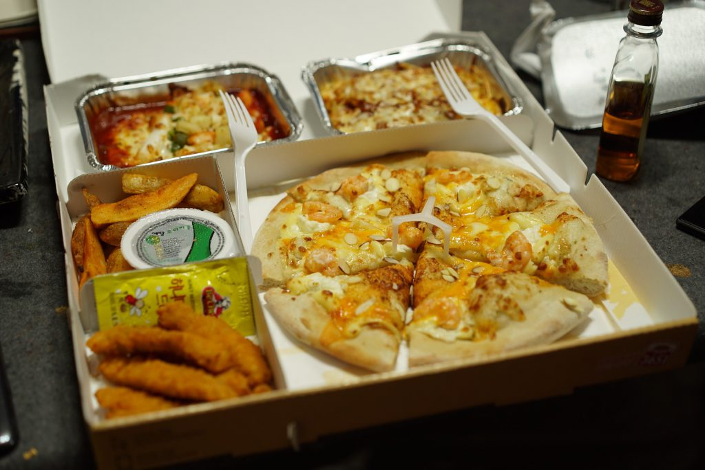 La semana nacional de la pizza para llevar