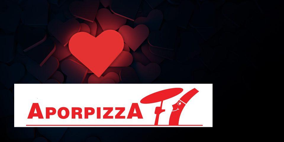 Comparte tu pizza con amor